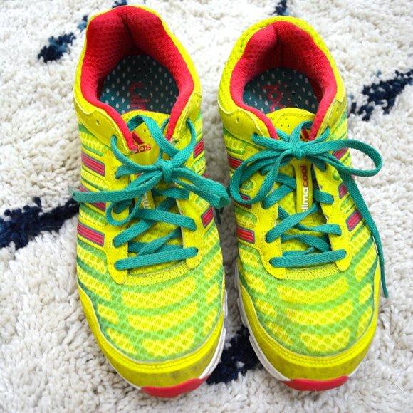 adidas Shoes   Neon Tennis   Poshmark